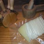 queso semicurado al vacio troceado